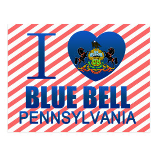 I Love Blue Bell, PA Postcard