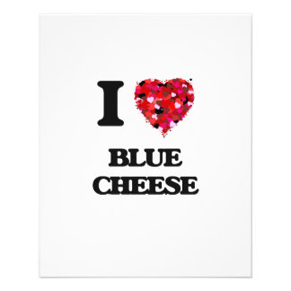 """I Love Blue Cheese 4.5"""" X 5.6"""" Flyer"""