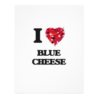 """I Love Blue Cheese 8.5"""" X 11"""" Flyer"""