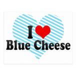 I Love Blue Cheese Postcard