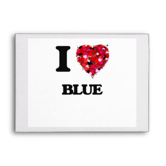 I Love Blue Envelope