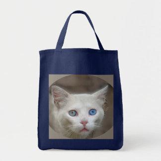 I Love Blue Eyes Tote Bag