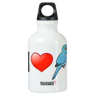 I Love Blue Indian Ringnecks SIGG Traveler 0.3L Water Bottle