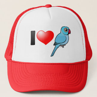 I Love Blue Indian Ringnecks Trucker Hat