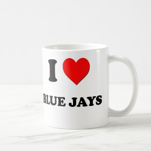I Love Blue Jays Mugs