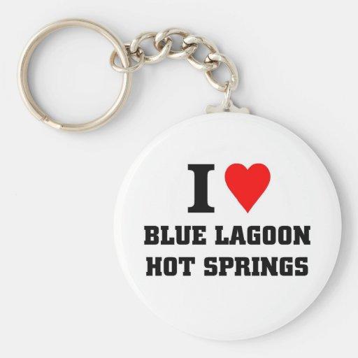 I love blue lagoon hot springs key chains