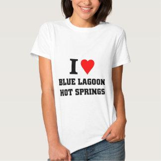 I love blue lagoon hot springs shirt