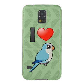 I Love Blue Quakers Galaxy S5 Cases