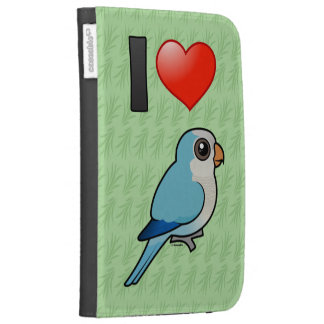 I Love Blue Quakers Kindle 3G Cases