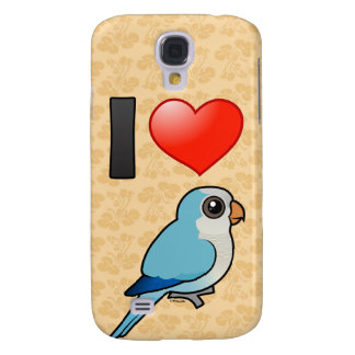 I Love Blue Quakers Galaxy S4 Case