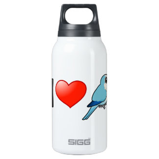 I Love Blue Quakers 10 Oz Insulated SIGG Thermos Water Bottle