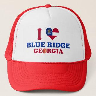 I Love Blue Ridge, Georgia Trucker Hat