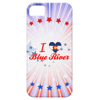 I Love Blue River, Colorado iPhone 5 Cover