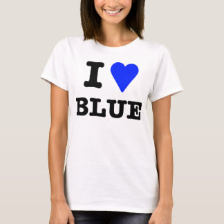 I Love Blue T-Shirt