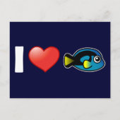 I Love Blue Tang