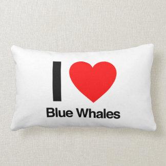 i love blue whales pillows