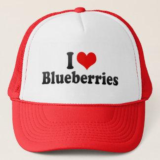 I Love Blueberries Trucker Hat