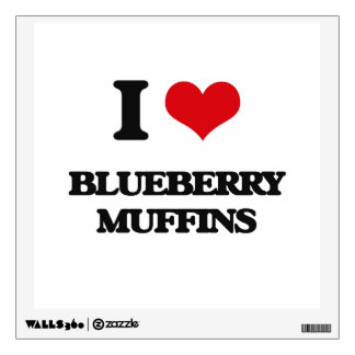 I love Blueberry Muffins Wall Skin