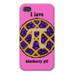 I love blueberry pi iPhone 4 case