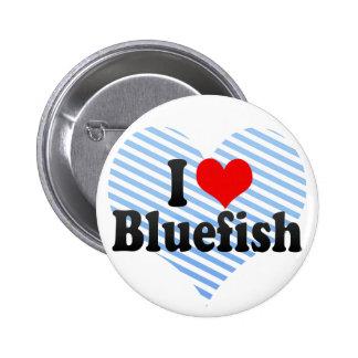 I Love Bluefish 2 Inch Round Button