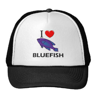 I Love Bluefish Trucker Hat