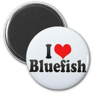 I Love Bluefish Magnet
