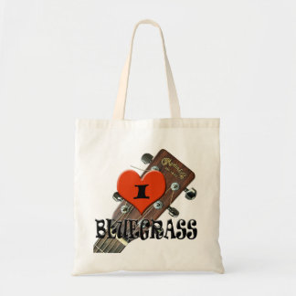I LOVE BLUEGRASS B TOTE BAG