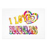 I LOVE BLUEGRASS CUSTOM ANNOUNCEMENT