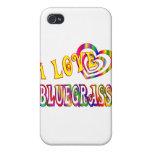 I LOVE BLUEGRASS iPhone 4/4S CASE