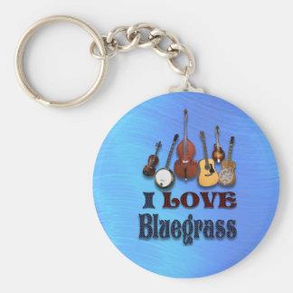 I LOVE BLUEGRASS-KEYCHAIN