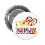 I LOVE BLUEGRASS PINS