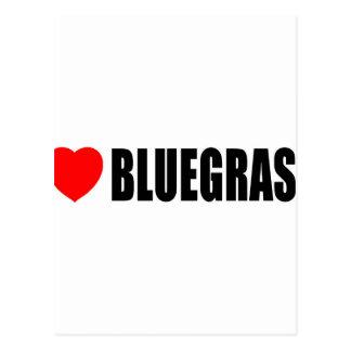 I Love Bluegrass Postcard