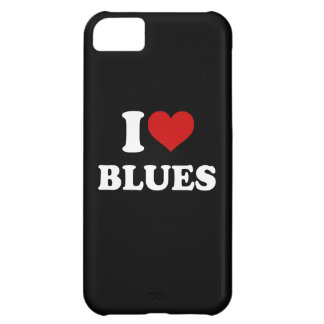 I Love Blues Case For iPhone 5C