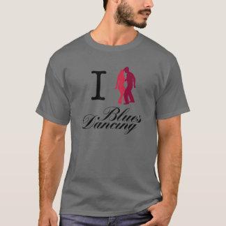 I Love Blues Dancing T-Shirt