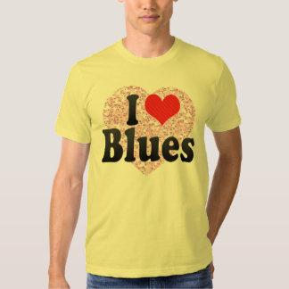 I Love Blues Tee Shirt
