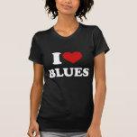 I Love Blues Tshirts