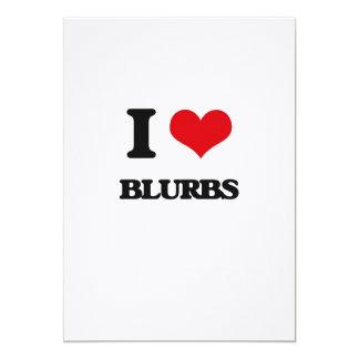 I Love Blurbs Card