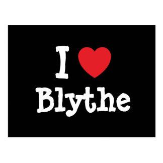 I love Blythe heart T-Shirt Postcard