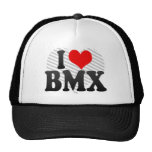 I love BMX Mesh Hat