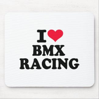I love BMX Racing Mouse Pad
