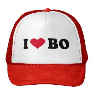 I LOVE BO TRUCKER HAT