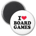 I love board games fridge magnets