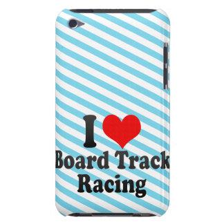 I love Board Track Racing iPod Case-Mate Case