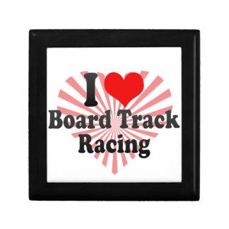 I love Board Track Racing Gift Box