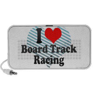 I love Board Track Racing Mp3 Speaker