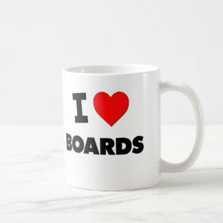I Love Boards Coffee Mug