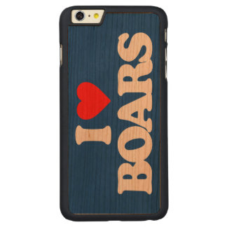 I LOVE BOARS CARVED® CHERRY iPhone 6 PLUS SLIM CASE