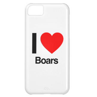 i love boars cover for iPhone 5C
