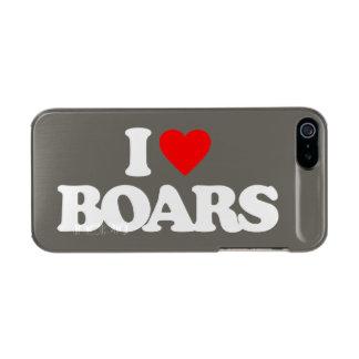 I LOVE BOARS INCIPIO FEATHER® SHINE iPhone 5 CASE