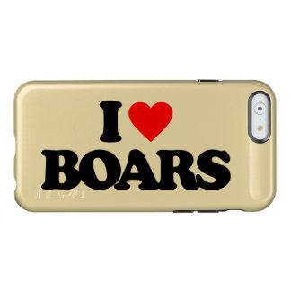 I LOVE BOARS INCIPIO FEATHER® SHINE iPhone 6 CASE